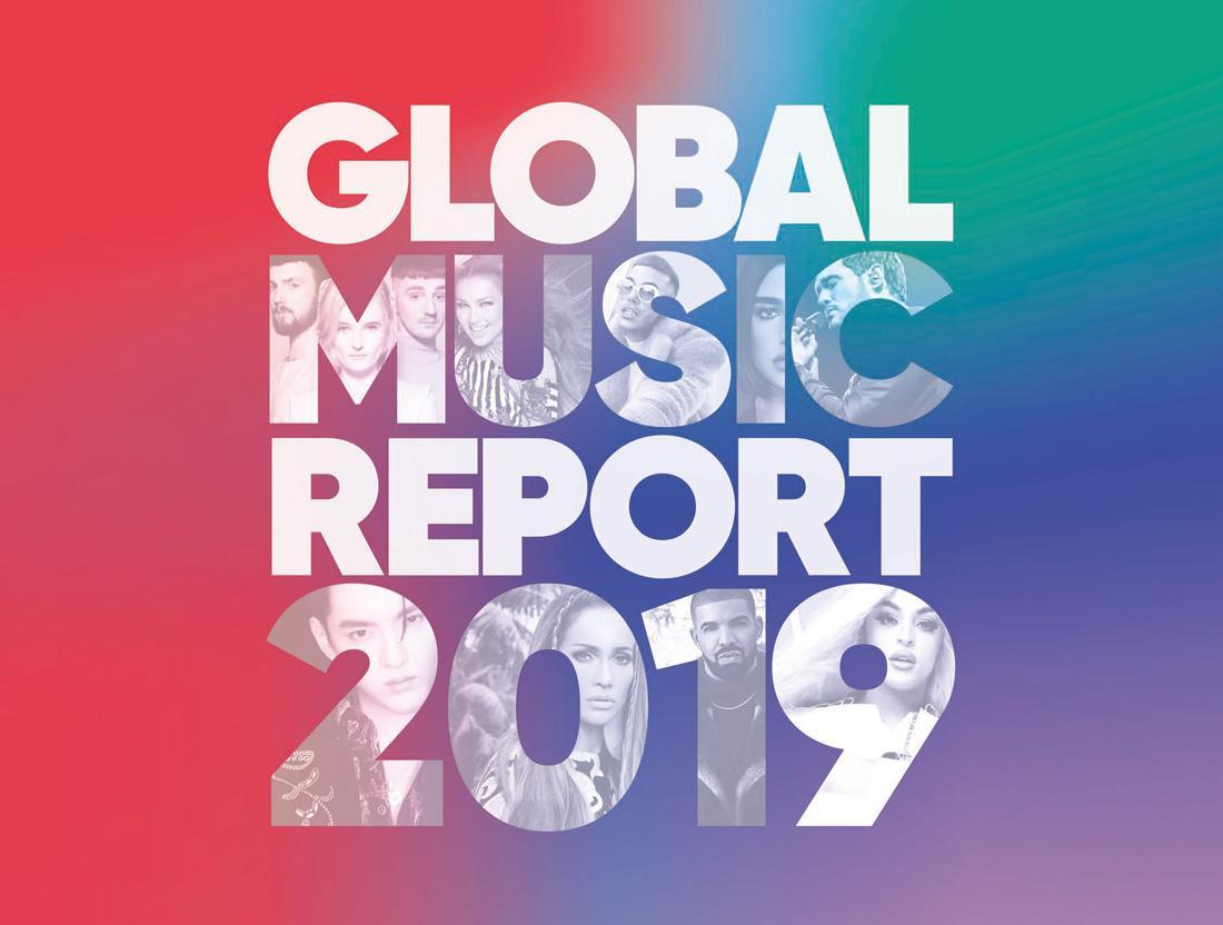 Offentliggørelse af Global Music Report 2019